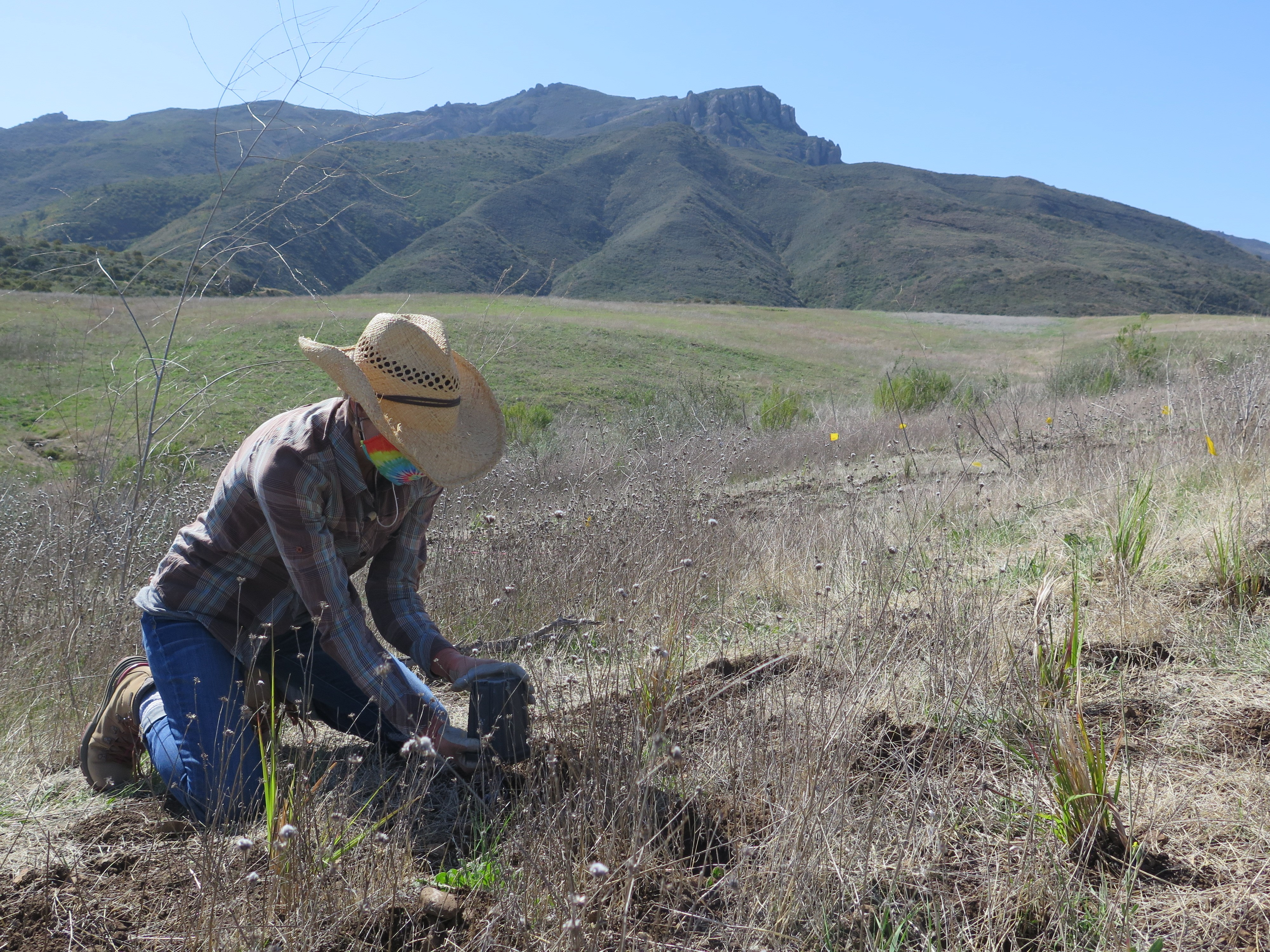 picture for The Santa Monica Mountains National Recreation Area Trail Restoration Efforts Along the Juan Bautista de Anza National Historic Trail!